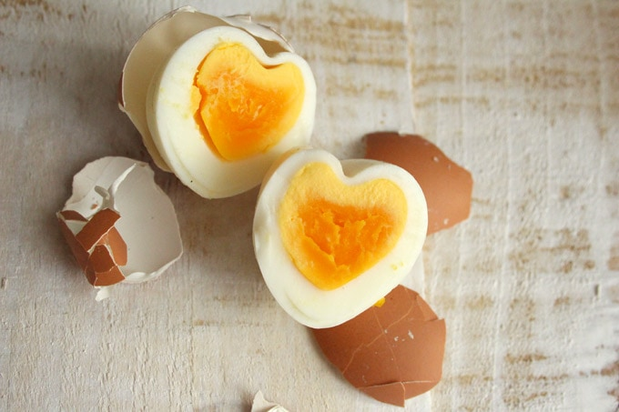 Heart Shaped Easter Egg