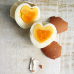 heart shaped easter eggs