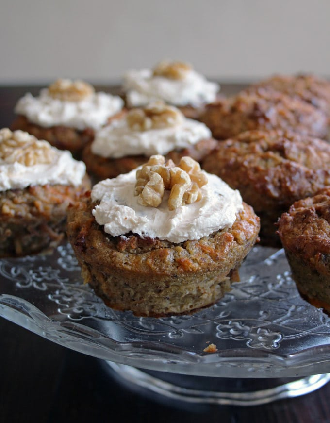 Banana Carrot Cake Sugar Free