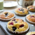 Do you want a quick low carb, gluten and sugar free breakfast that is perfect for busy weekday mornings? Say hello to these Grab & Go Low Carb Muffins!