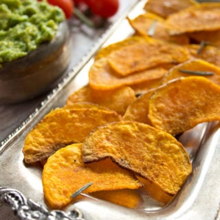Butternut squash crisps are perfect for those times when you long for crisps, but don't want to load up on carbs.