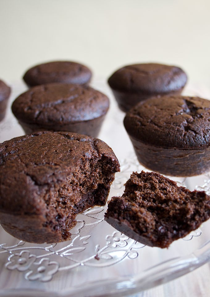 sugar free chocolate cupcakes without chocolate frosting
