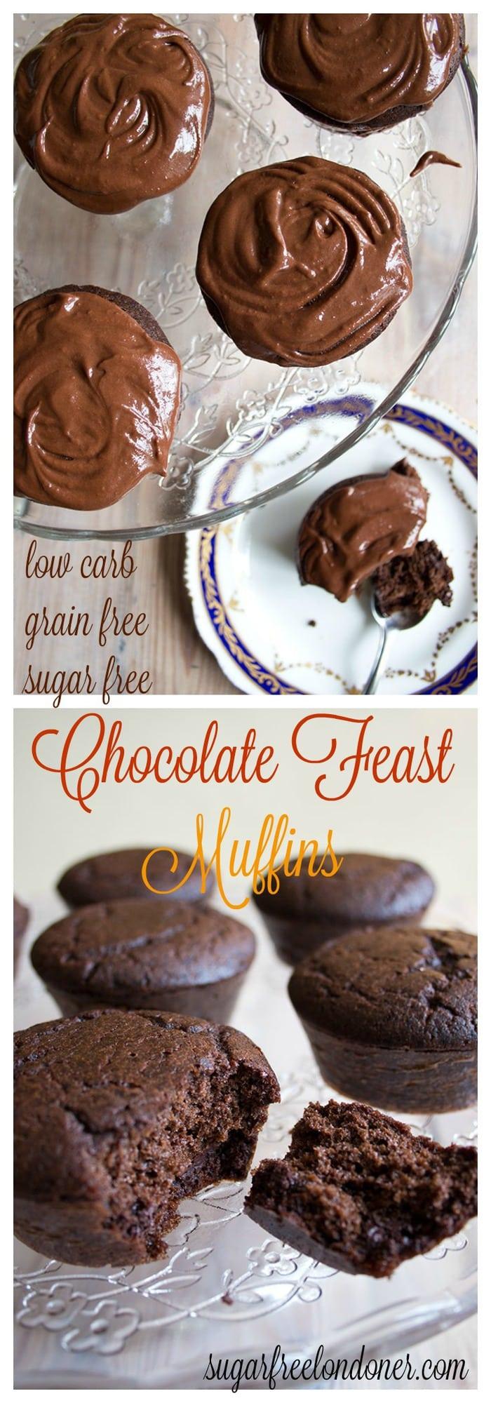 Sugar Free Dress: Sugar Free Chocolate Feast Muffins (low Carb)