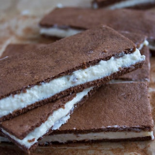 A healthy makeover for a popular snack: Say hello to the sugar free kinder milk slice.