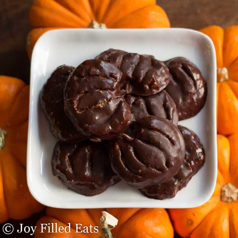 peanut butter pumpkins