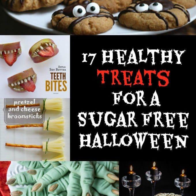 17 Healthy Treats For a Sugar Free Halloween