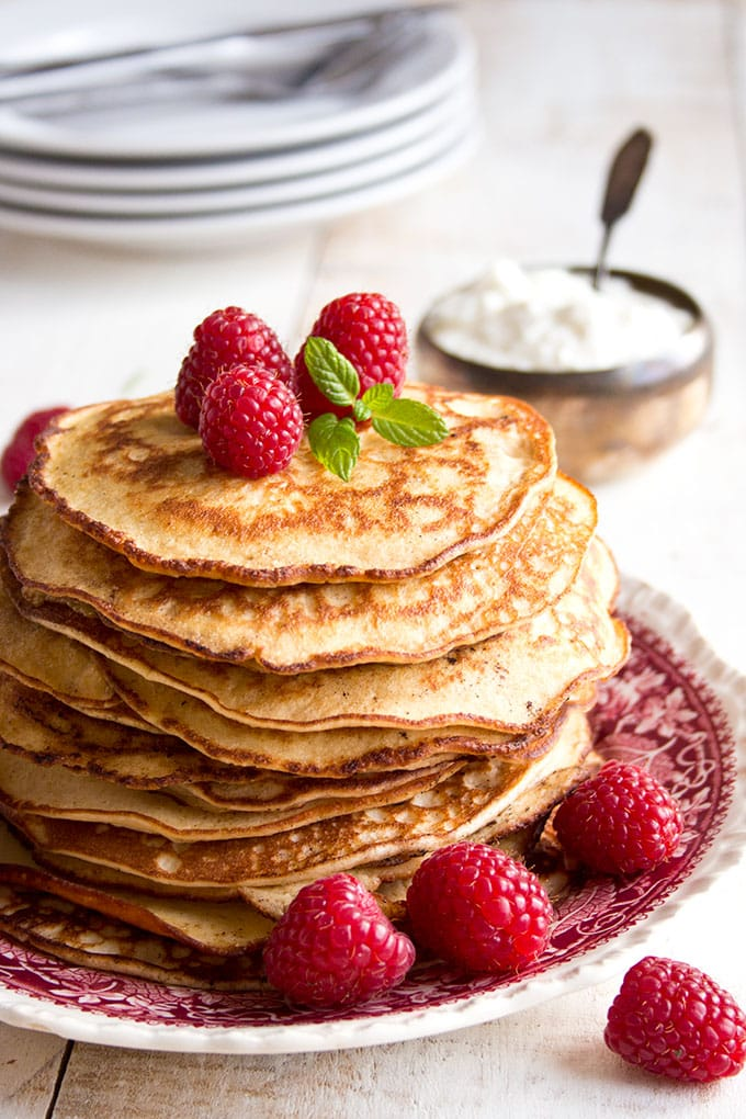 Almond Cream Cheese pancakes - the no 1 keto recipe on Sugar Free Londoner