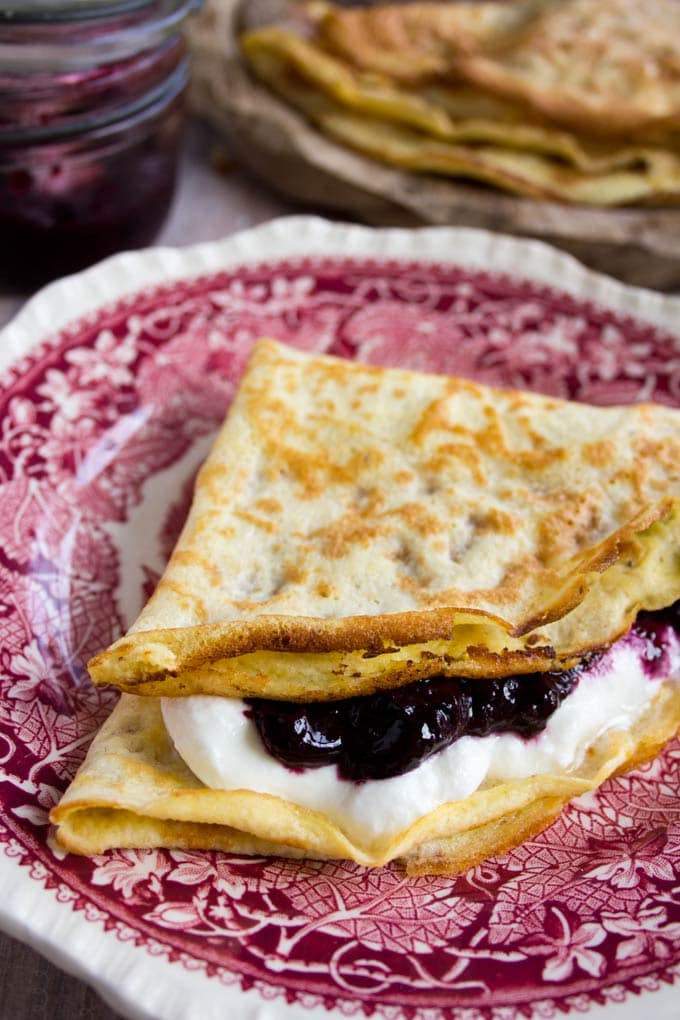 Crepes ricette low carb