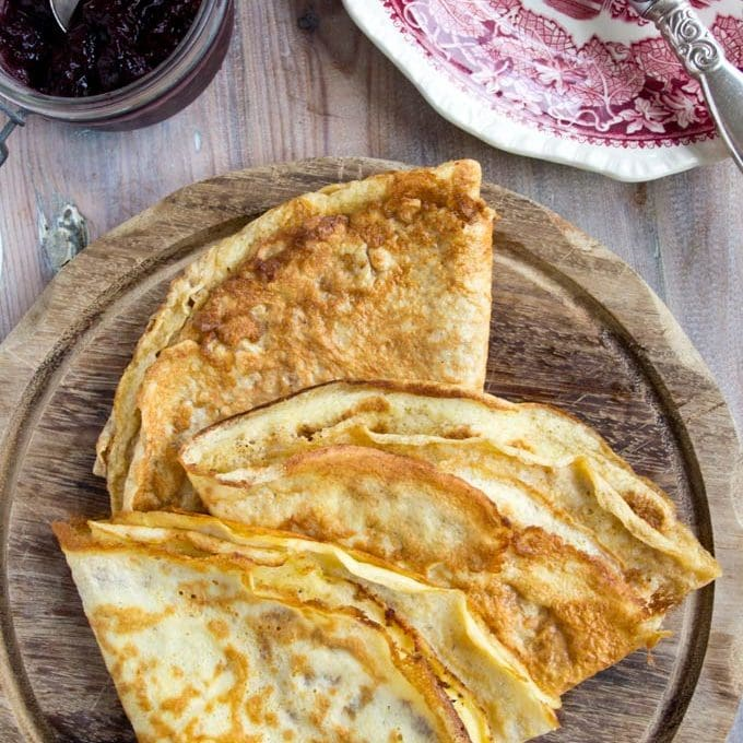 3 Ingredient Low Carb Crepes
