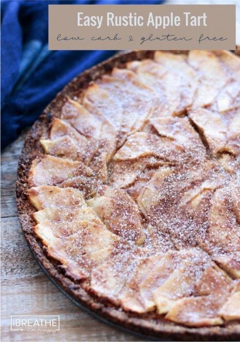 rustic apple tart