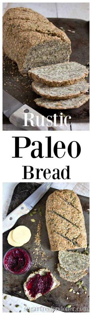 rustic Paleo bread