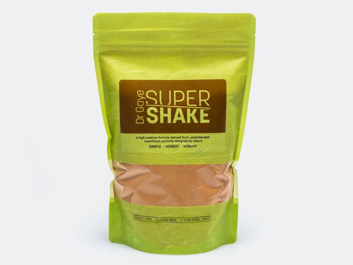 bag of Dr Gaye Super Shake