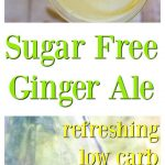 Sugar Free Homemade Ginger Ale pin
