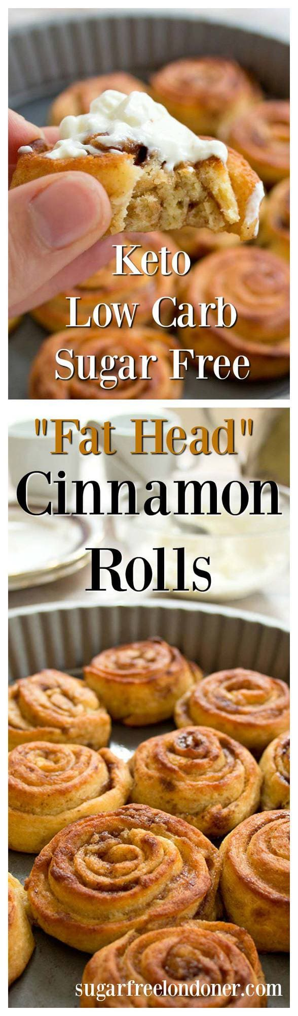 Keto Cinnamon Rolls Sugar Free Low Carb Sugar Free
