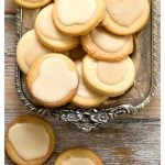 coconut shortbread cookies pin