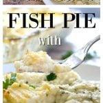 fish pie with cauliflower mash pin