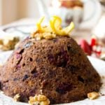 Enjoy this low carb Christmas pudding as the crowning glory of your festive meal. It's sugar free, gluten free and suitable for diabetics.