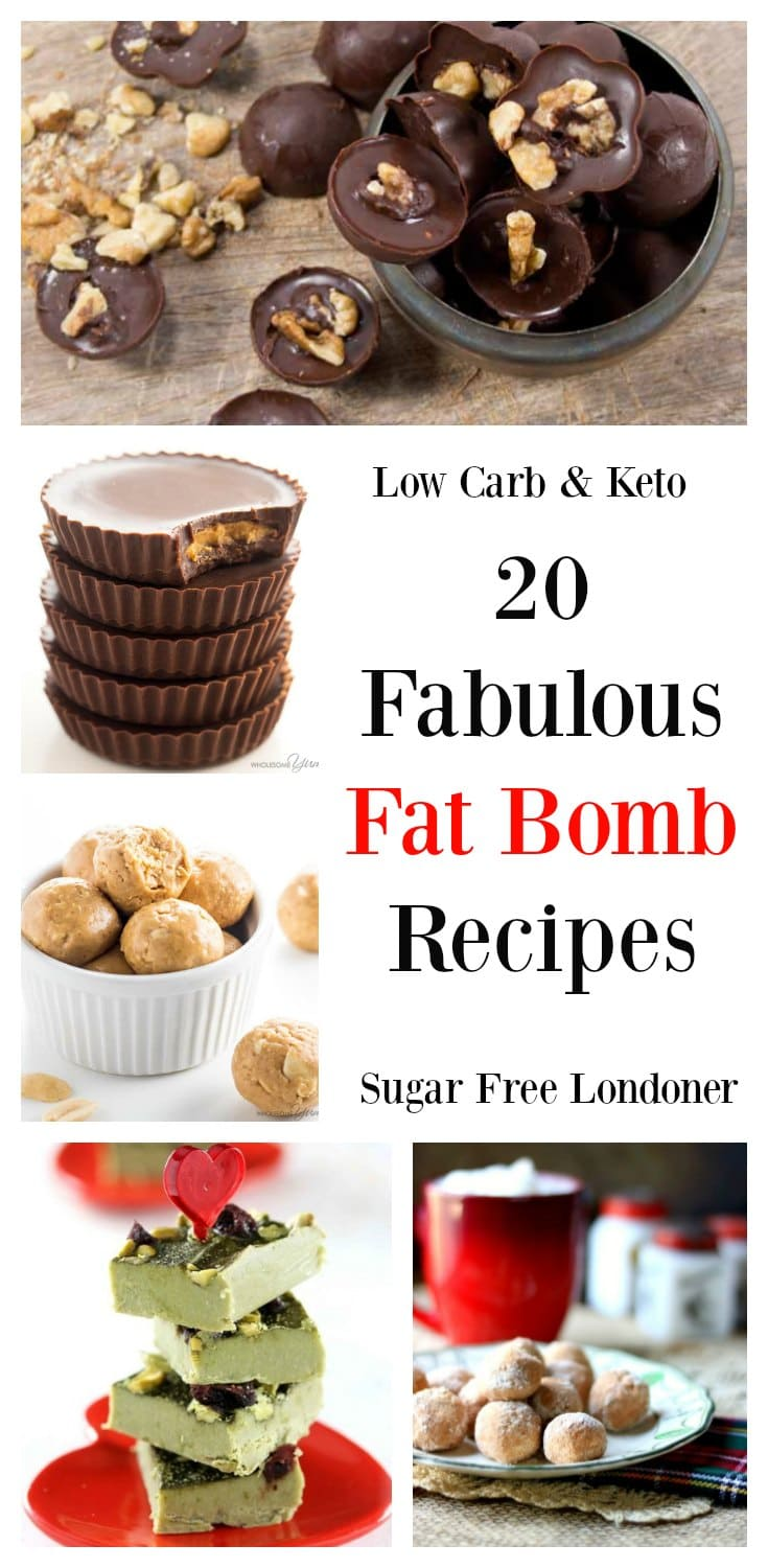 20 Fabulous Fat Bomb Recipes