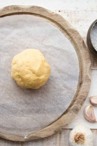 Easy Low Carb Pizza Dough Ball