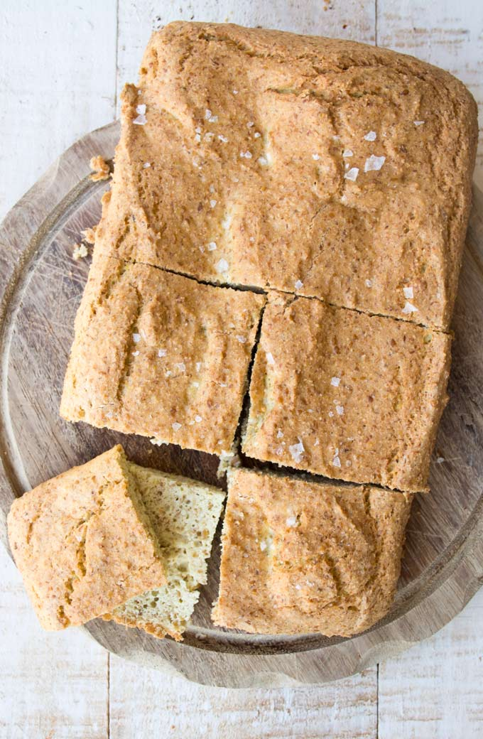 Flaxseed Bread With Coconut Flour