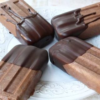 Mexican chocolate fudgesicles