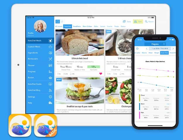 Keto Diet app - Do you want to take the guesswork out of your diet? Well, there's an app for it. Read my review about the KetoDiet app.