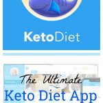 the keto diet app review title and keto diet app logo
