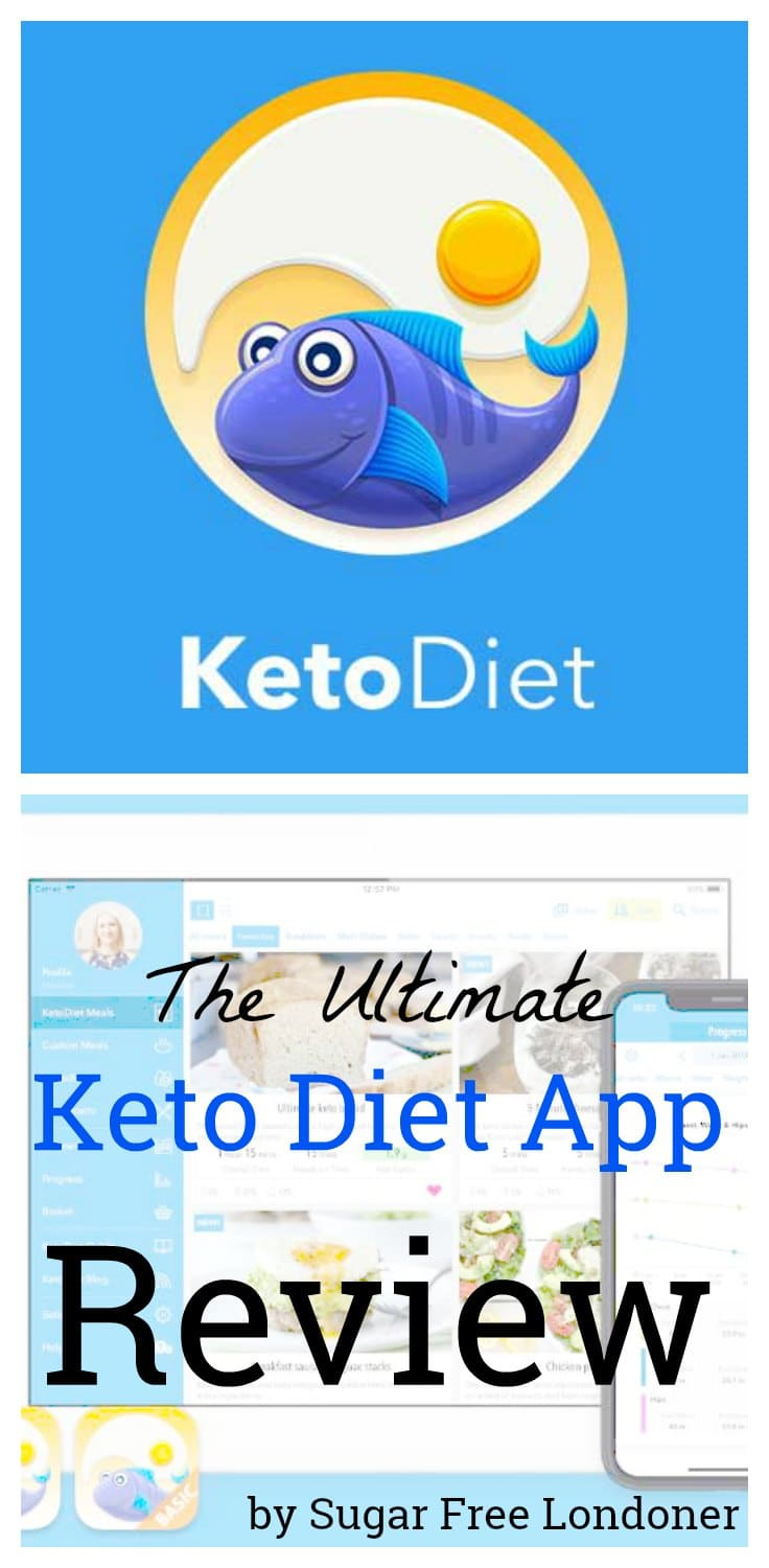 Do you want to take the guesswork out of your diet? Well, there's an app for it. Head over to Sugar Free Londoner for the ultimate  review of the Keto Diet app. #keto #lowcarb #app