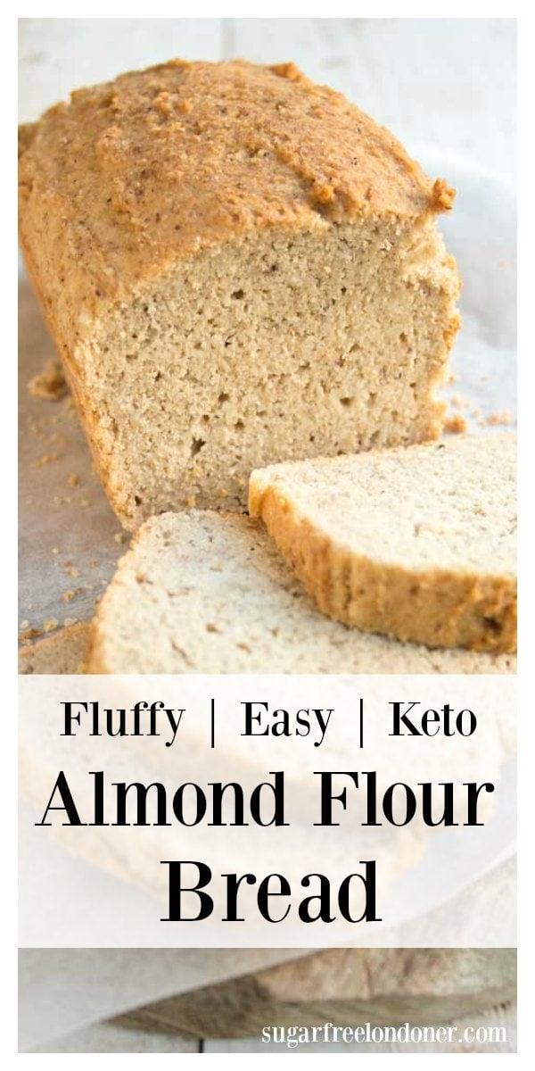Almond Flour Bread (Keto Bread Recipe) - Sugar Free Londoner