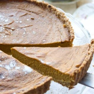 Low Carb Sugar Free Pumpkin Pie