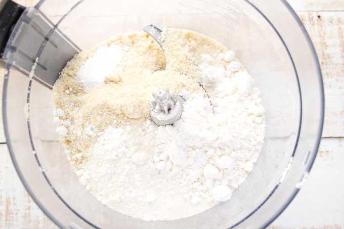 dry ingredients for keto sugar cookies