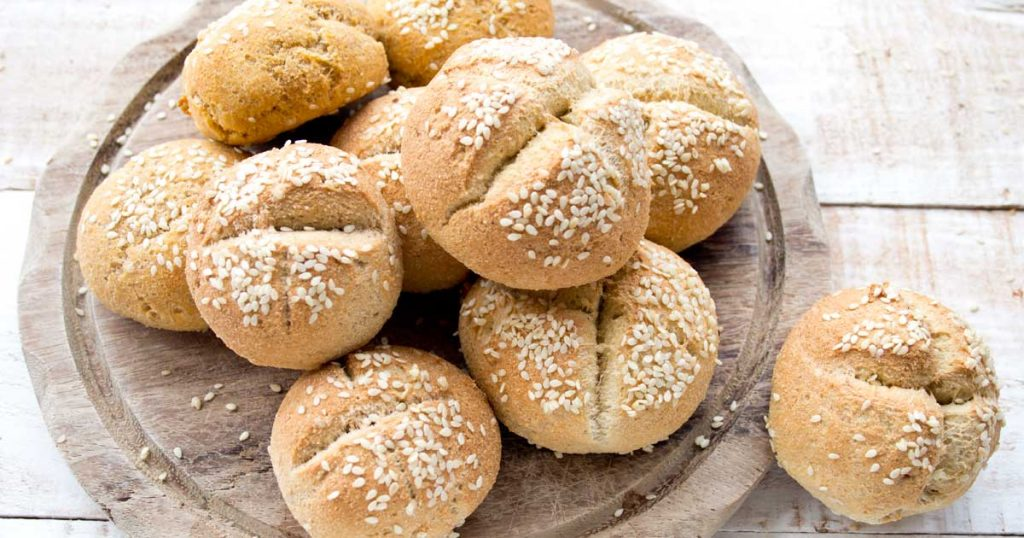 These soft and pillowy Keto buns taste similar to wheat bread, but with a fraction of the carbs!