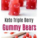 Keto sugar free gummy bears