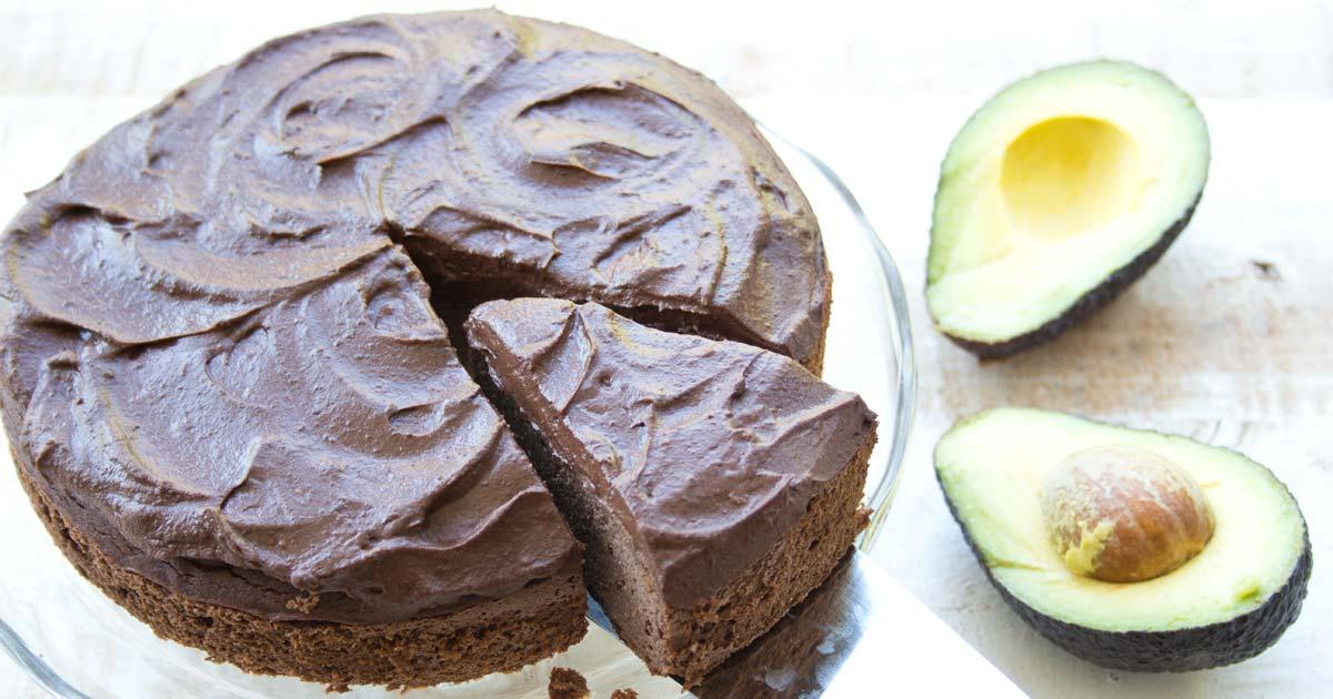 Fudgy Chocolate Avocado Cake Sugar Free Sugar Free