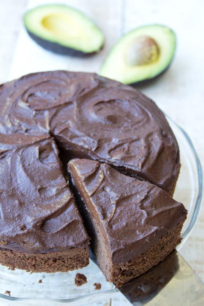 Amazing Fudgy Chocolate Avocado Cake Sugar Free Sugar Free Londoner Funny Birthday Cards Online Hendilapandamsfinfo