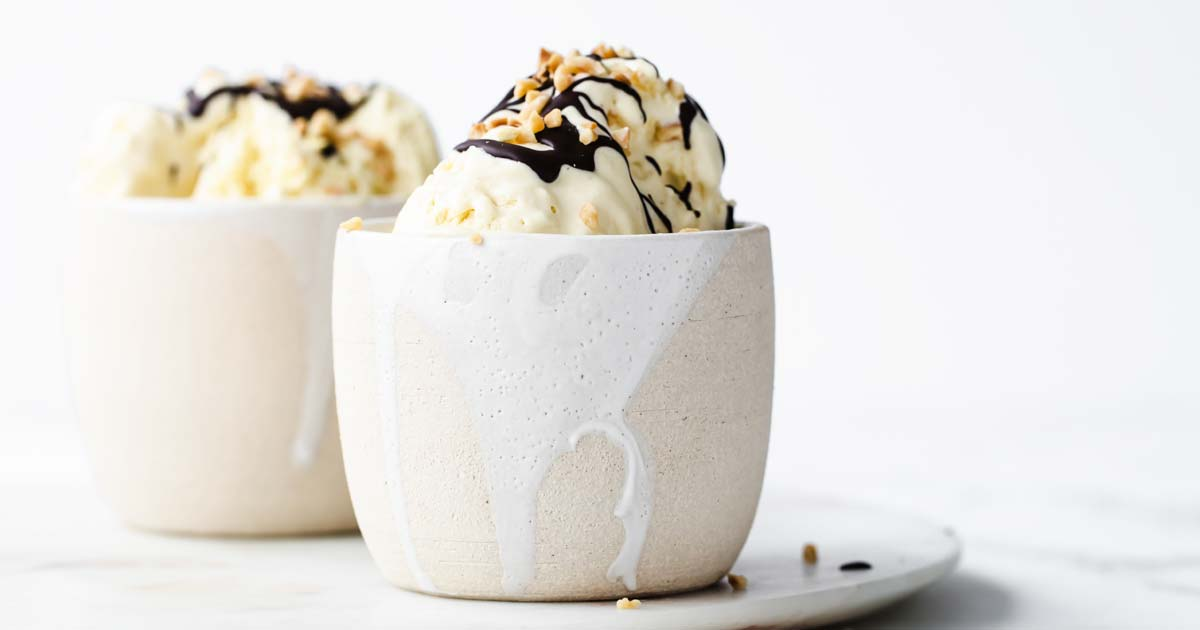 Sugar Free Vanilla Ice Cream (Low Carb