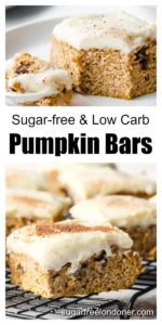 healthy pumpkin bars with cream cheese frosting