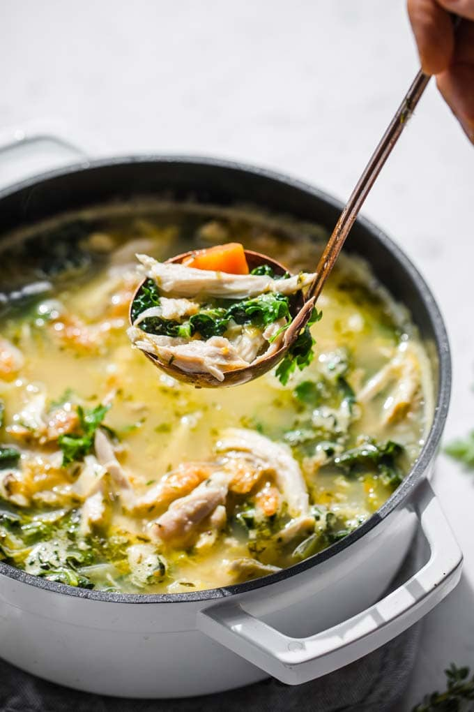 Keto Chicken Vegetable Soup