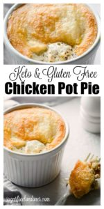 chicken pot pie with a fathead crust