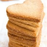 a stack of keto ginger snaps