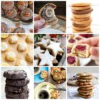 a collage of cookies