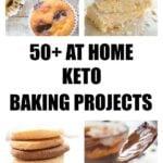 keto cookies, muffins, cakes and mug cakes