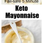 a glass jar wit mayonnaise and a spoon