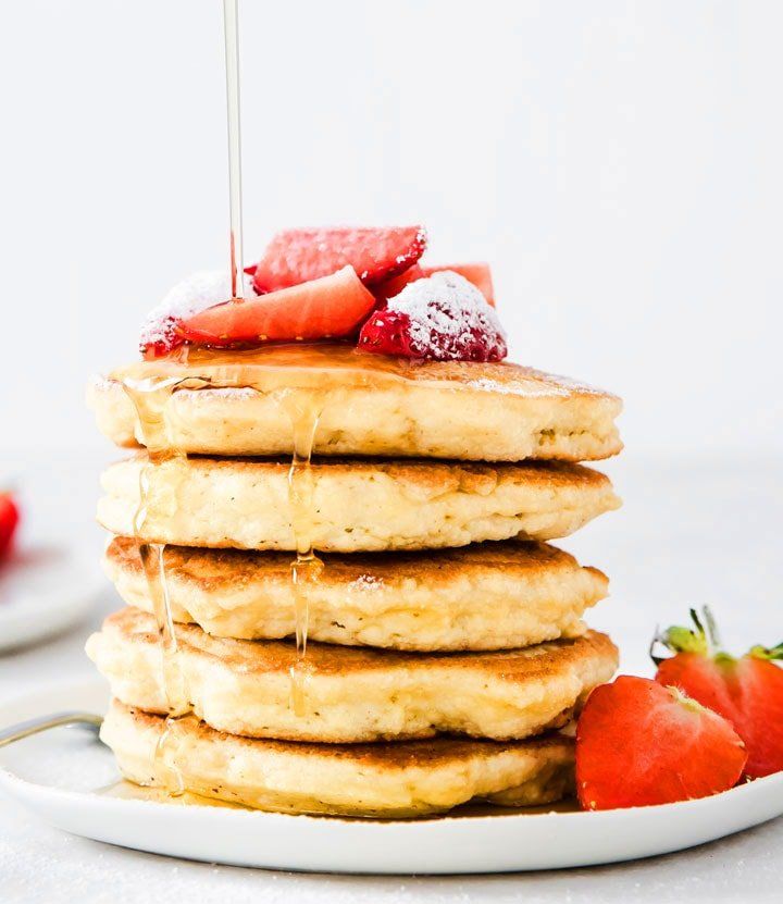 Easy Low Carb Coconut Flour Pancakes Sugar Free Londoner