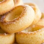 low carb keto donuts with sugar free sweetener coating