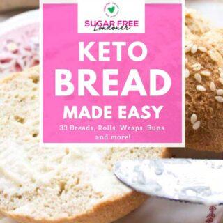 book cover of Keto Bread Made Easy eBook