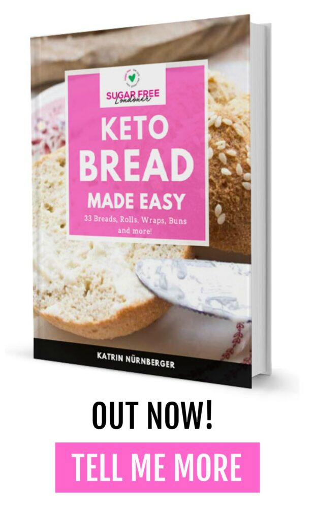 cover of the Keto Bread Made Easy Cookbook