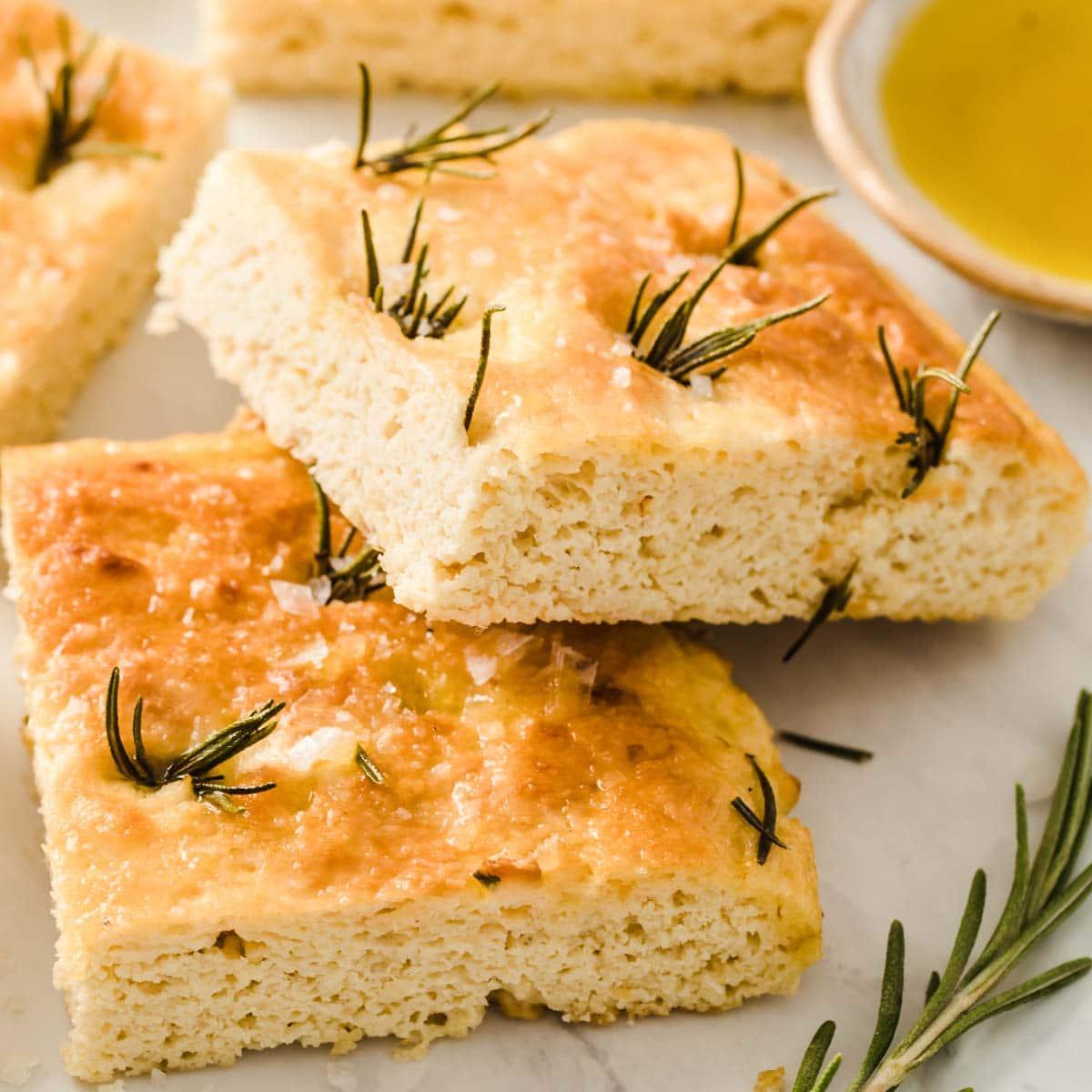 Gluten Free Keto Focaccia Bread Sugar Free Londoner