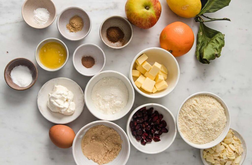 ingredients for sugar free mince pie