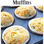 broccoli cheddar muffins in a muffin pan